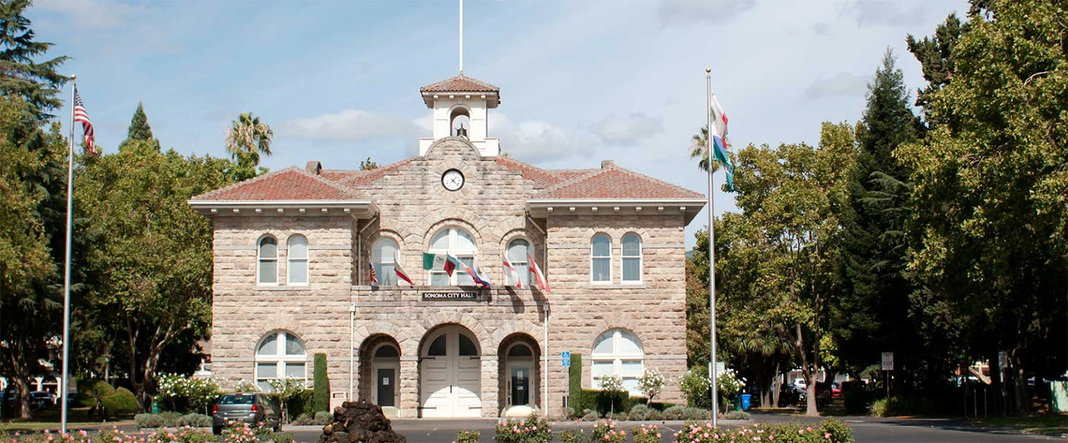 Sonoma City Hall - Sonoma Plaza